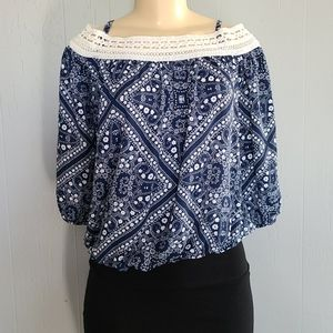 By&By Blue Woman's Top
